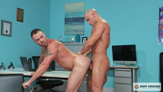 Sean Zevran and Carlos Lindo at Hot House