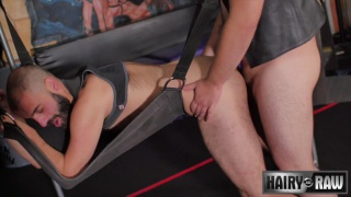 Alezgi Cage and Aries Steele at Hairy & Raw