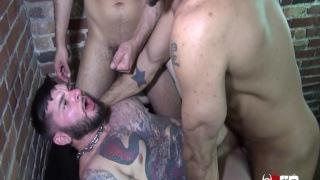 Jessie Colter, Dylan Strokes and Teddy Bryce at raw fuck club