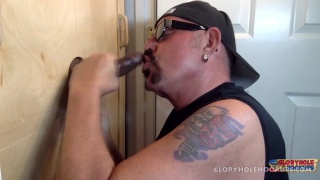 Last Cock Of The Day at Gloryhole Hookups