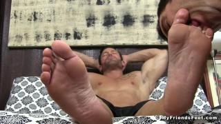 Joey D at My Friends Feet