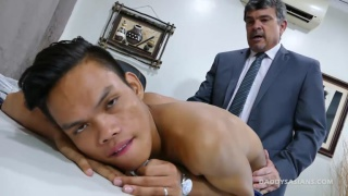 Daddy Fucks The Accountant at Daddy's Asians
