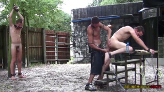 Scream For Me Louder Part 4 at Bound Muscle Jocks