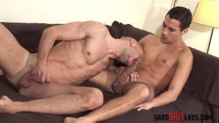Tony Axel and David Ken at Hard Brit Lads