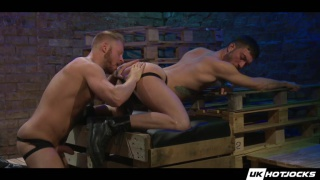 rico fatale and andro maas at uk hot jocks