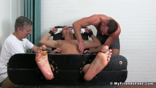 Aiden Hart & Nathan Justice at My Friends Feet