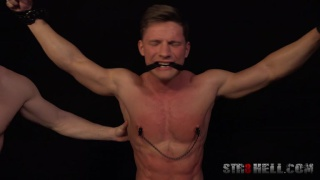 Spanking with Ondra Taryk at Str8 Hell