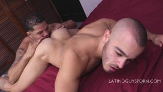 Lexis & Chelo at Latino Guys Porn