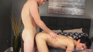Xavier Ryan and Benjamin Dover at Broke Straight Boys