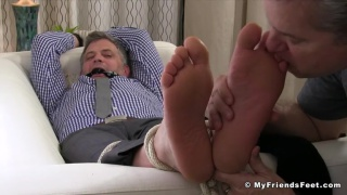 Brenden Cage at My Friends Feet