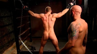 In Hell Part 4 with Drake Jaden & Dirk Caber at daddy's bondage boys