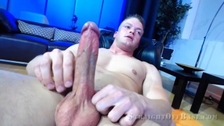 Sgt. Ryker Webcam Solo at Straight off base