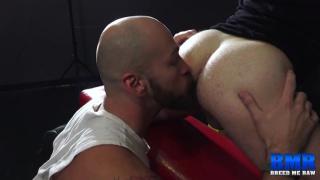 Parker Logan and Josh Stone at Breed Me Raw