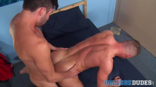 Aiden Hart and Scott Demarco at College Dudes