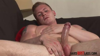 Harry Lawson jacking off at Hard Brit Lads