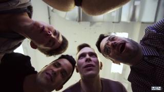 group sex with Kit Cohen, Peter Pounder & Alex Neveo at men.com