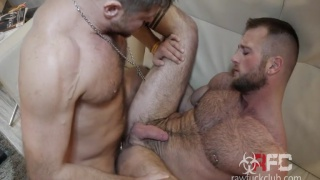 aiden hart & jack andy at Raw Fuck Club