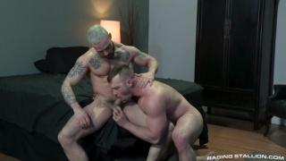 Blake Hunter fucks by Carlos Lindo at Raging Stallion