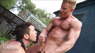 Johnny V & Gabriel Alanzo at Naked Sword