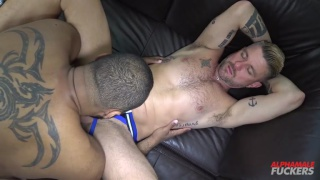 Ray Diesel and Christian Matthews at Alphamale Fuckers
