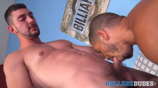 Mike Maverick and Chase Klein at College Dudes