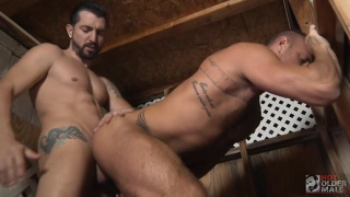 Jimmy Durano and Michael Roman at Hot Older Male