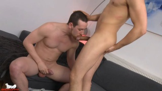 Anthony Naylor and Colin White at badpuppy