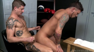 Seth Knight gets fucked by Sean Maygers at Extra Big Dicks