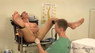 examination room sex with Adam Nezval & Martin Polnak at William Higgins