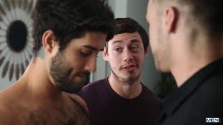 threeway sex with Tobias, Diego Sans & Blaze Austin at Men
