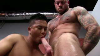sean duran gets fucked by alex chu at Peter Fever