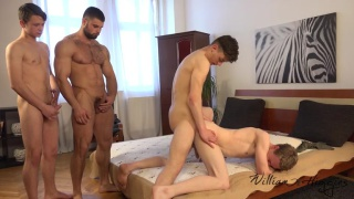 Wank Party #96, Part 2 at William Higgins